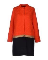 Neera - Orange Coat - Lyst