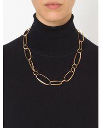 Pomellato | Metallic Oval Link Chain Necklace | Lyst