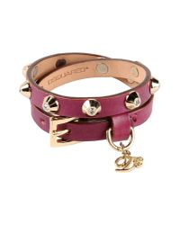 DSquared² - Purple Bracelet - Lyst
