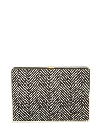 Ivanka Trump - Black Genuine Calf Hair Box Minaudiere - Lyst