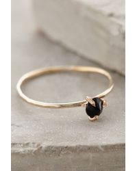 Five And Two | Black Serena Ring | Lyst