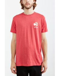 Urban Outfitters | Red Atlanta Hawks Tee for Men | Lyst