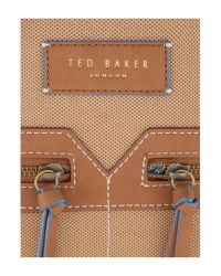 Ted Baker - Natural Smartsynthetic Rucksack for Men - Lyst