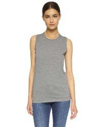 Acne | Gray Bye C Muscle Tee | Lyst