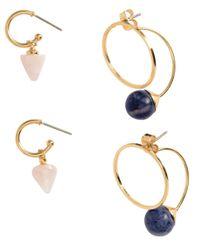 H&M | Metallic 4 Pairs Earrings | Lyst