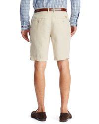 BOSS - Natural 'clyde-w' | Regular Fit, Linen Shorts for Men - Lyst