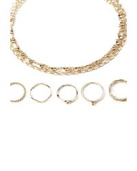 Forever 21 - Metallic Mixed Jewelry Set - Lyst