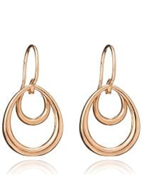 Dinny Hall | Pink Small Rose Gold Vermeil Toro Earrings | Lyst