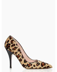 kate spade new york - Multicolor Licorice Heels - Lyst