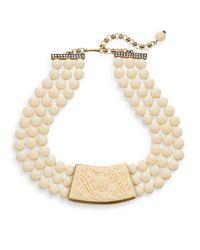 Heidi Daus - Metallic Natural Beauty Three-row Necklace - Lyst