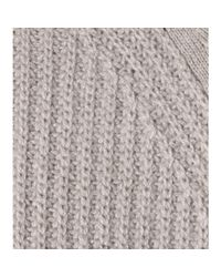 Loro Piana - Gray Girocollo Cashmere Sweater - Lyst