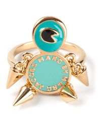 Marc By Marc Jacobs - Blue Figurine Ring - Lyst