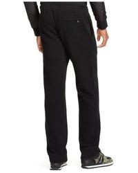 Polo Ralph Lauren | Black French-rib Athletic Pant for Men | Lyst