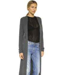 Torn By Ronny Kobo - Gray Alexi Cashmere Duster - Lyst