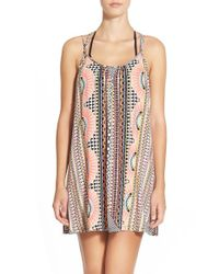 Rip Curl - Black 'goddess' Cover-up - Lyst