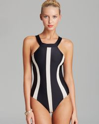 Pilyq | Jet Black Svelte One Piece Swimsuit | Lyst