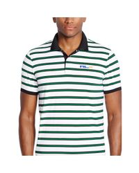 Ralph Lauren - White Slim-fit Striped Polo Shirt for Men - Lyst