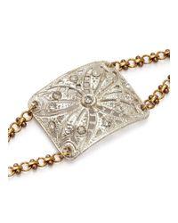 Lulu Frost - Metallic Art Deco Vintage Bracelet - Lyst