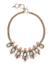 Givenchy   Metallic Frontal Necklace   Lyst