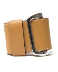 Givenchy | Brown Wide Buckle Cuff | Lyst