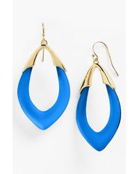 Alexis Bittar | 'lucite - Neo Bohemian' Open Drop Earrings - Brocade Blue | Lyst