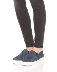 Joie | Blue Huxley Slip On Sneakers | Lyst