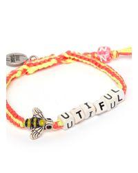 Venessa Arizaga - Multicolor 'bee-utiful' Bracelet - Lyst
