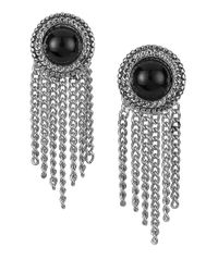 Sam Edelman | Metallic Fringe Stud Earrings | Lyst