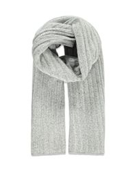 Forever 21 | Gray Chunky Ribbed Knit Scarf | Lyst