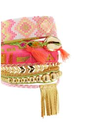 Hipanema - Pink Happiness Friendship Bracelet - Lyst