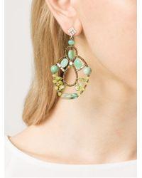 Ziio - Blue Galaxy Criso Earrings - Lyst