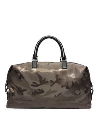 Michael Kors - Green Camo Print Convertible Duffel Bag for Men - Lyst