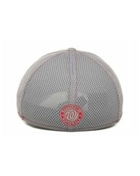 KTZ | Washington Nationals Gray Neo 39thirty Cap for Men | Lyst
