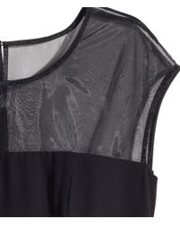 H&M | Black + Sleeveless Dress | Lyst