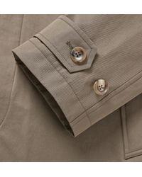 Dunhill | Green Cotton Rain Coat for Men | Lyst