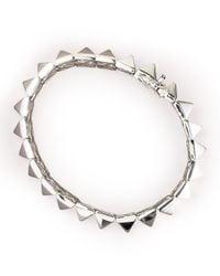 Eddie Borgo | Metallic Pyramid Bracelet for Men | Lyst