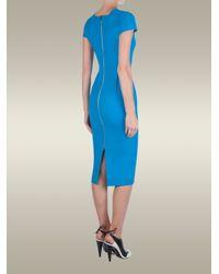Roland Mouret - Blue Delphinus Dress - Lyst