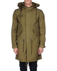 Mauro Grifoni - Green Jacket for Men - Lyst