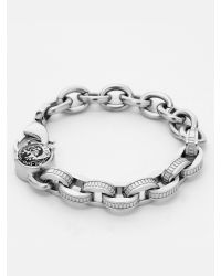 DIESEL | Metallic Bracelet for Men | Lyst
