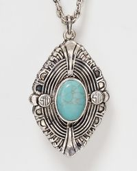 Samantha Wills | Blue Bohemian Like You Pendant Necklace, 30"