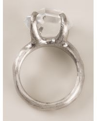 Bjorg   Metallic The New Day Ring   Lyst