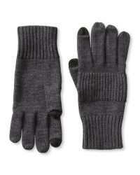 Banana Republic   Gray Extra-fine Merino Wool Texting Glove for Men   Lyst