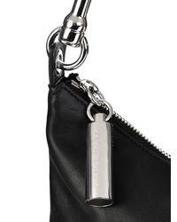 Christopher Kane - Black Banana Leather Shoulder Bag - Lyst