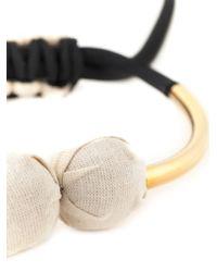 Marni | Black Round Pendant Necklace | Lyst