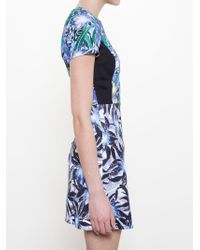 Peter Pilotto - Blue 'Astra' Dress - Lyst