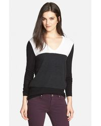 Trouvé | Black Colorblock Sweater | Lyst