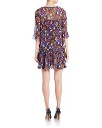 Kensie - Multicolor Printed Dress - Lyst