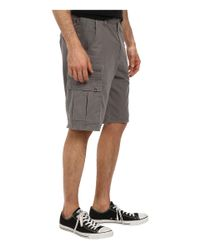 Billabong | Gray Scheme Cargo Walkshort for Men | Lyst