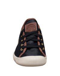 Palladium | Black Flex Lace-up Sneakers for Men | Lyst