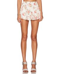 Lucca Couture | Natural Jogger Shorts | Lyst